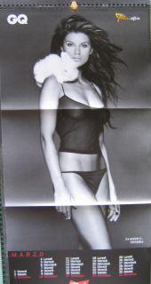Calendar Sexy Canalis Corvaglia Nude Calendario GQ 02