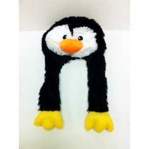 PENGUIN PILLOW PET EAR FLAP HAT WARM MY CUTE CARTOON ANIMAL WINTER CAP