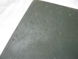 Vintage 1919 Worlds War Events Vol 1 Book WWI 1914 1915 P F Collier