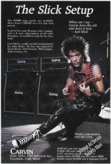 This scarce Earl Slick Advertisement looks good It is perfect for