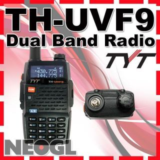 Dual Band Radio 136 174 400 470Mhz Walkie Talkie Free Earpiece
