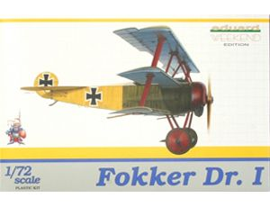 Eduard 7405 Fokker Dr I Triplane 1 72 Scale Model Kit