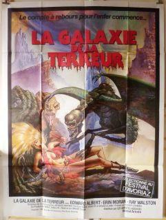 Galaxy of Terror 47x63 French 1981 Edward Albert