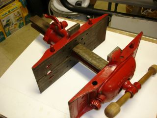 Emmert Pattern Makers Vise Turtleback Woodworking Cabinet Bench Vice