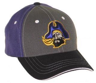 East Carolina Pirates Kickback Flex Fit Hat Cap M L New