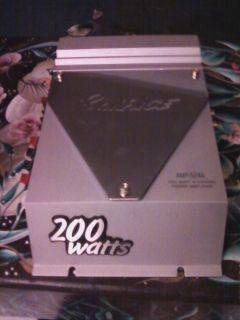 Rampage 200 Watt 4 Channel Power Amplifier