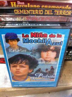 Pelicula La Nina De La Mochila Azul EL Mas Valiente Del Mundo DVD New