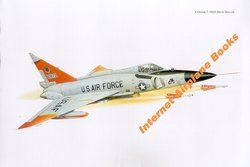 ART CONVAIR F 102 DELTA DAGGER USAF FIS ANG ELMENDORF AFB ALASKA 1968