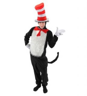 Dr. Seuss Cat In the Hat Deluxe Costume Adult Small/Medium *New*