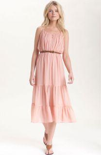 New Joie Elaine Tiered Silk Chiffon Maxi Dress Size Medium 6 8 $368