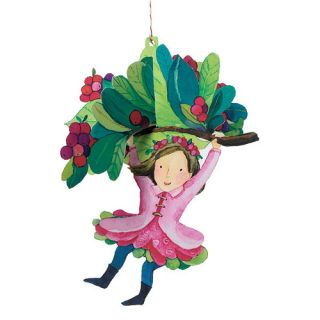 eeBoo Berry Floating Fairy Durable Cardboard Decoration   approx 10.25