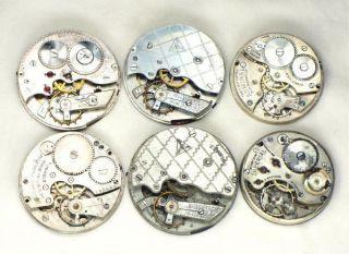 Antique Vintage Pocket Watch Movements Altered Art Steampunk 60M