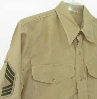 USMC US Marine Corps Korean War NCO Service Dress Green Alpha Uniform