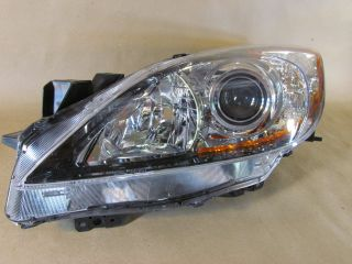 Mazda 3 Left Driver Side Headlight BBM4 51 Olok Front Head Light Head