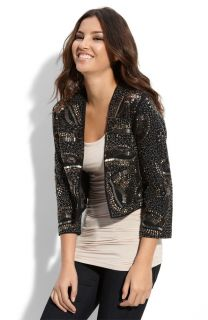 Haute Trouve Gossip Girl Embellished Hippie Dress Jacket