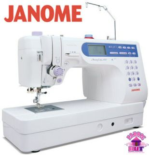 6500P Memory Craft Computerized Sewing Machine with Quilters Table
