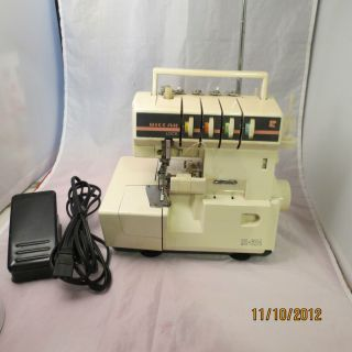 Riccar RL 624 Serger Overlock Sewing Machine Used