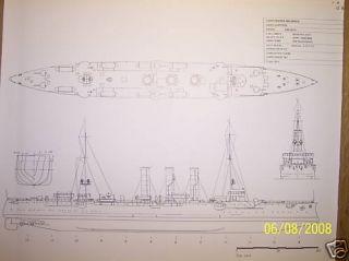 SMS Emden SHIP Boat Model Boat Plan