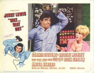 Way Way Out Jerry Lewis Connie Stevens Anita Ekberg