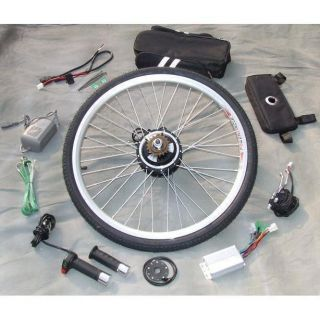 350W ELECTRIC BICYCLE E BIKE RETROFIT KITS NEW New Style Gearless Mini