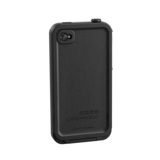 Lifeproof LPIPH4CS02BL Waterproof Case for The Apple iPhone 4 4S Black