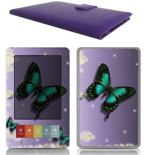 Barnes Noble eBook Nook Leather Case Cover Jacket Skin