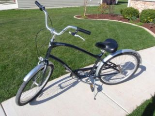 ELECTRA TOWNIE Mens Blue BICYCLE Bike Beach Cruiser WI 53074
