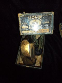 Working Belle City Home Electric Hair Clipper in Original Box Vintage