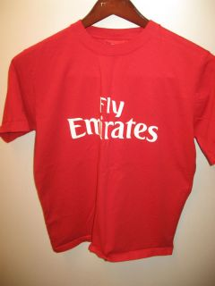 Emirates United Arab Airlines Fly Emirates Airplane Football Soccer T