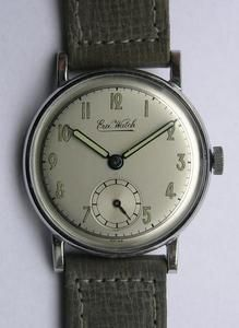 Vintage Era Watch Mens Wrist Watch Swiss 1940S