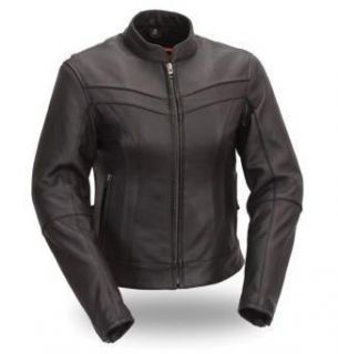 First Classics Womens Stylish Scooter Jacket Large New