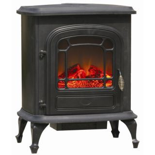 Stowe Electric Indoor Fireplace Stove Space Heater