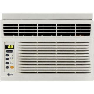 LG LG 6,000 BTU Window Mounted Air Conditioner with Remote Control