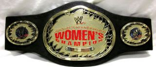 WOMENS CHAMPIONSHIP WRESTLING BELT Loose DIVAS TNA ECW WWF Kelly Eve