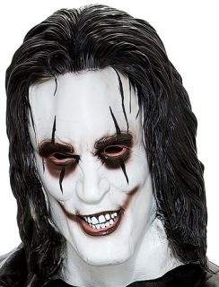 Adult The Crow Eric Draven Full Don Post Costume Mask