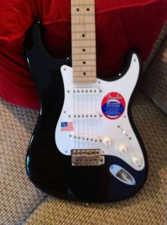 Fender Stratocaster Eric Claptons Signature Blackie guitar, Made in