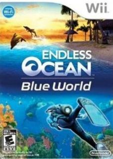NINTENDO WII GAME ENDLESS OCEAN BLUE WORLD *BRAND NEW & SEALED*