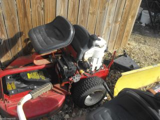 Snapper Riding Mower Electric Start