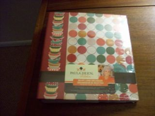 Paula Deen Recipe Card Organizer Dots