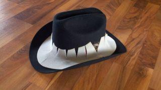 Eddy Bros Scottsdale Black Cowboy Western Hat 7 New