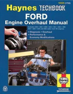 Ford Engine Overhaul Manual 289 302 351 360 390 428 460
