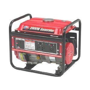 Power 2 000 Watt Gas Powered Portable Generator Winter Electric Supply