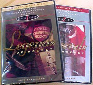NHL Legends of Hockey Complete TSN vs Series 4 DVD Set