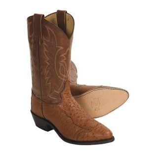 Tony Lama Ostrich Cowboy Boots 12 R Toe 9 9 5 10 10 5