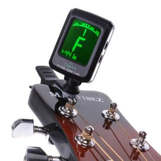 LCD Clip on Digital Guitar Tuner For Electronic Chromatic Bass Violin