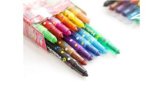 Hello kitty Mini 12 Colored Pencils Set, Kids art drawing supplies_02