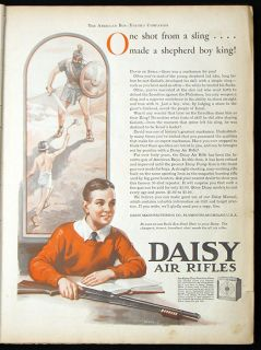 1932 American Boy Bound Volume Daisy Air Rifle Lionel Train Toy