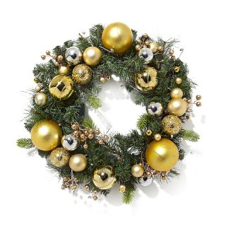 Winter Lane Winter Lane Battery Operated 24 LED Wreath with