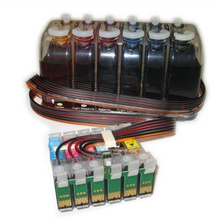 CISS Bulk Ink System for Epson 1400 Cartridge T079 New
