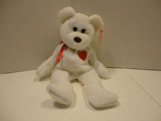 Ty Beanie Babies Bear Original 1991 Valentino Italy Valentines Day